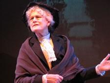 Kaiulani as Mother Jones