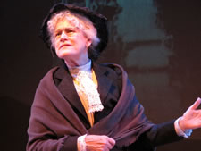 Kaiulani as Mother Jones
