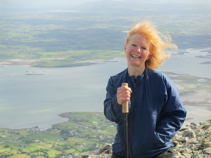 Marat Moore on Croagh Patrick