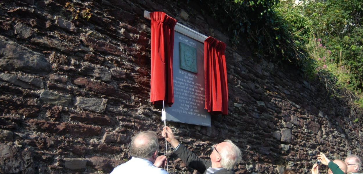 Mother Jones plaque unveiling in Cork