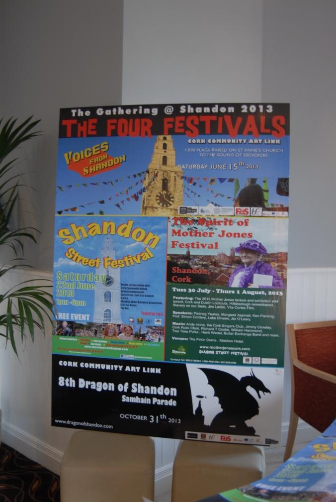 Four Festivals, one poster