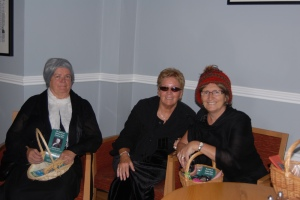 Some of the costumed local ladies at the launch