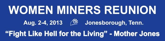 Women Miners Reunion, Jonesborough, Tennessee