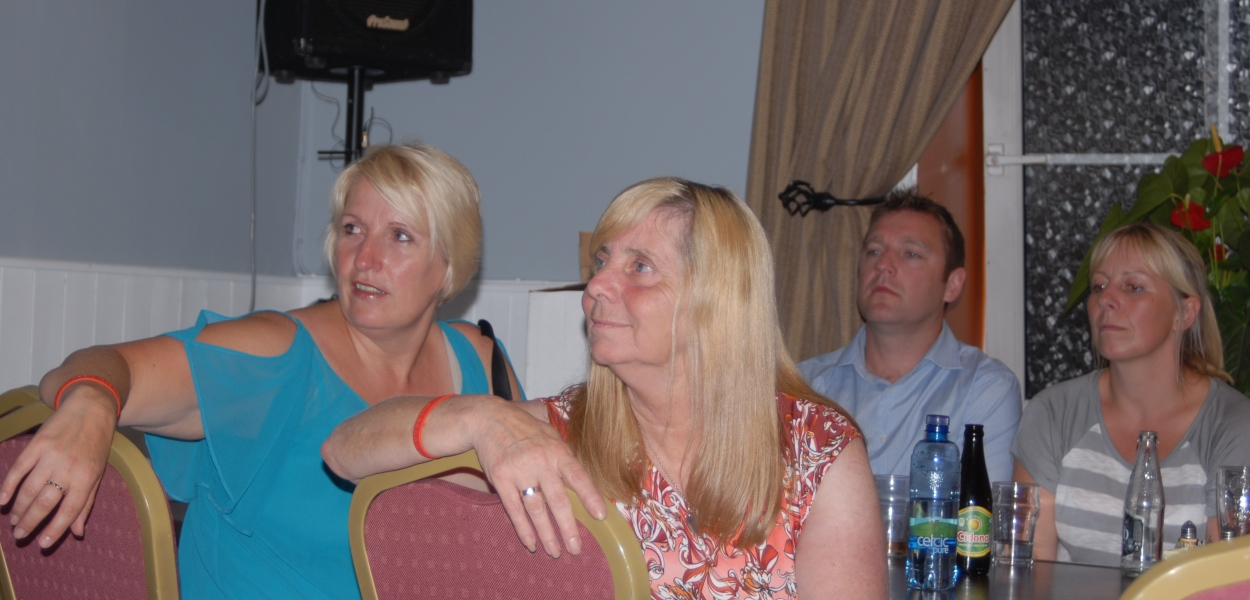 Margaret Aspinall and Sue Rogers