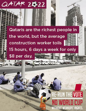 Qatar rerun the vote
