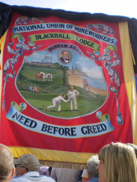 Another one of the hundreds of banners carried in Durham on July 12th