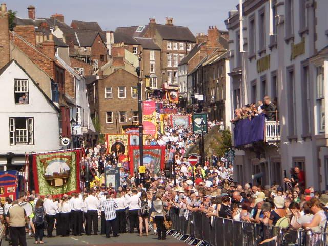 Durham Gala crowds