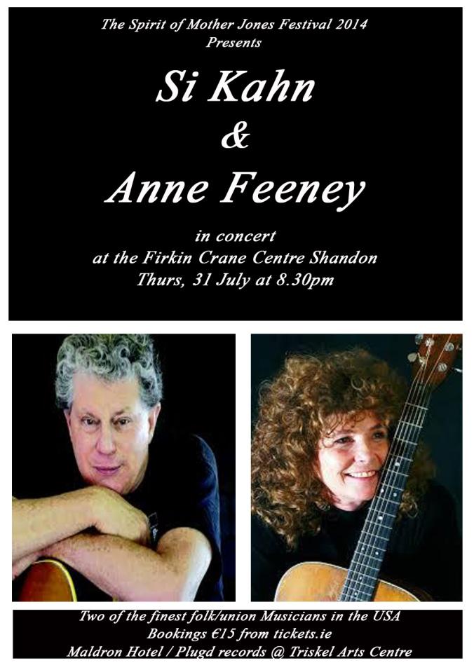 Si Kahn & Anne Feeney