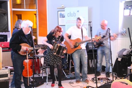 Music at the Maldron.  Photo: Jimmy Thomson