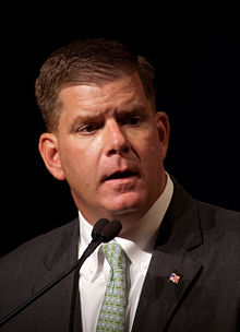 Mayor Martin J. Walsh of Boston.  Pic: David Parsons, Creative Commons via Wikipedia