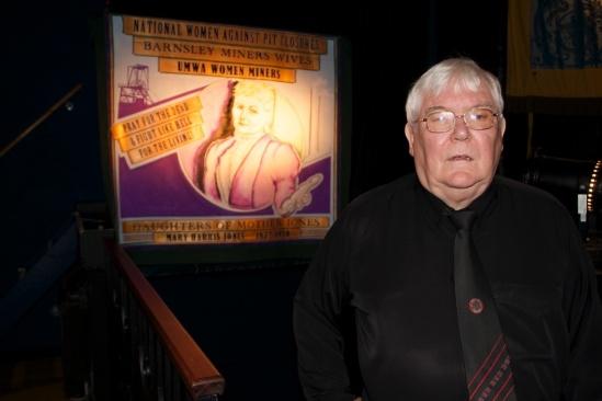 Dave Hopper of Durham Miners Gala