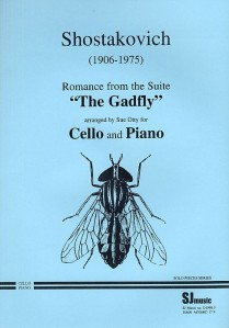 Dimitri Shostakovich's musical score for the Gadfly