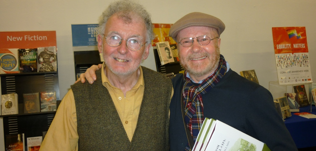 Jimmy with Richard T.Cooke