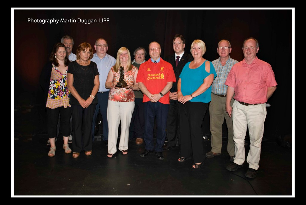 Margaret Aspinall and Sue Roberts with the Cork Mother Jones Committee. Photo (c) Martin Duggan