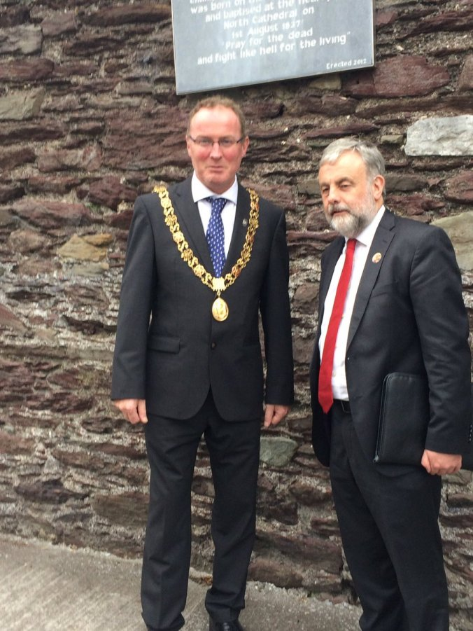 Lord Mayor with Jack O'Connor