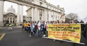 protest Dublin