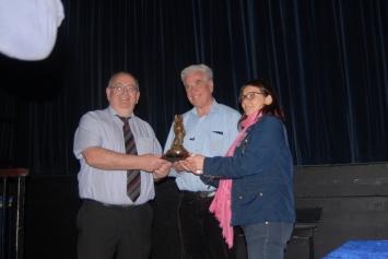 Fr. Peter McVerry receives award