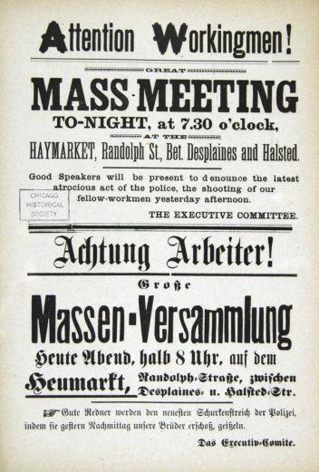 haymarket meeting
