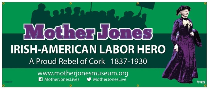 Mother Jones Patricks Day banner final