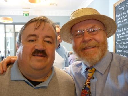 John Jefferies with Richard at the SMJF. (2)