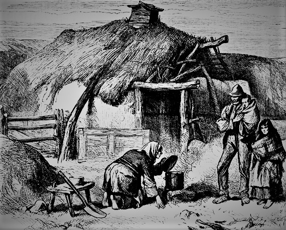 This image has an empty alt attribute; its file name is 1.3famine-cabin-oughterard-heritage-2.jpg