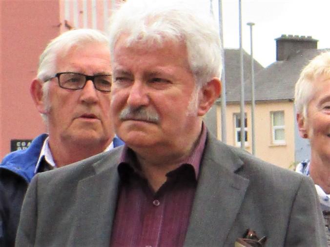 Manus O'Riordan in 2017